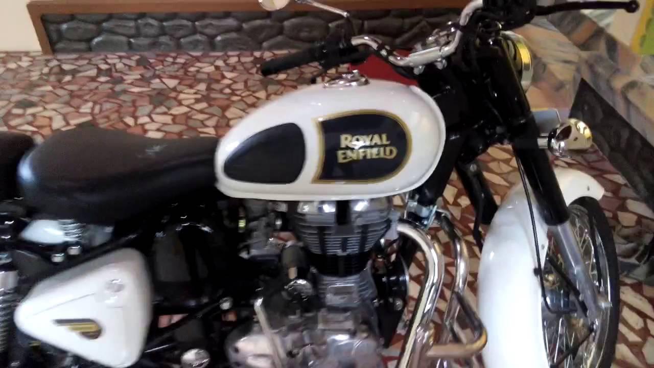 royal enfield classic 350 ash white youtube
