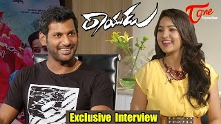 Special Chit Chat with Vishal | Rayudu Movie Exclusive Interview | Vishal, Sri Divya