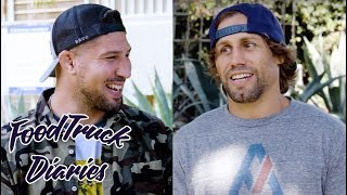 Urijah Faber | Food Truck Diaries | BELOW THE BELT with Brendan Schaub