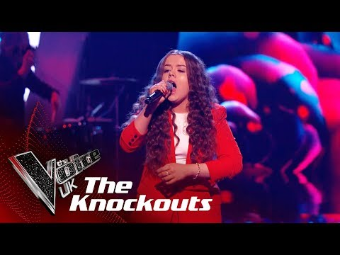 Saskia Eng Performs Came Here For Love: The Knockouts  The Voice UK 2018