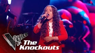 Saskia Eng Performs 'Came Here For Love': The Knockouts | The Voice UK 2018