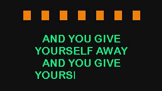 U2 -  WITH OR WITHOUT YOU (KARAOKE VERSION & LYRICS & INSTRUMENTAL)