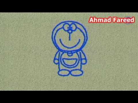 Cara Lukis Doraemon Youtube