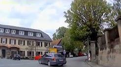 D: Trebgast. Landkreis Kulmbach. Fahrt durch den Ort. April 2014