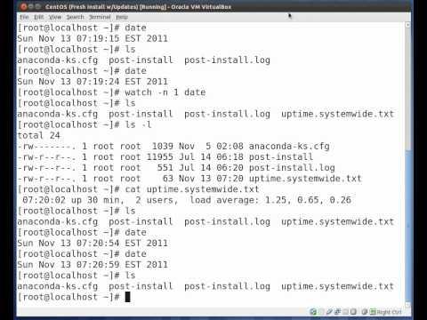 Linux CronTabs, Cron Jobs, Task Schedulers