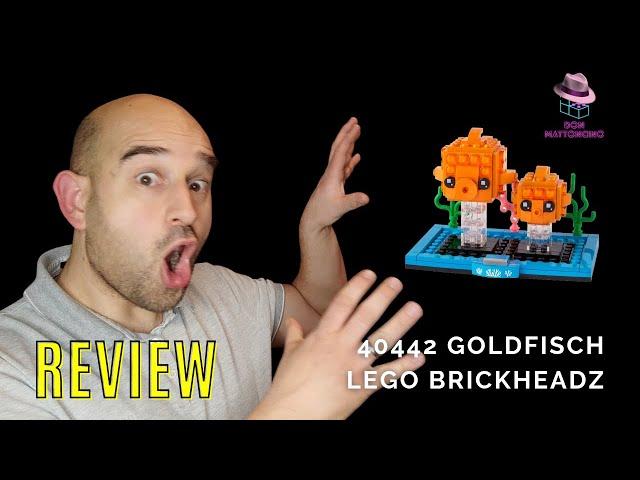 Lego Goldfische für das heimische Aquarium l BrickHeadz Set 40442 im Review