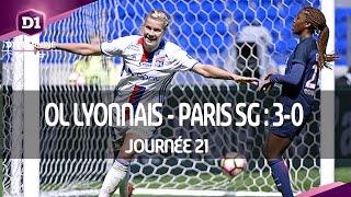 J21 : Olympique Lyonnais - Paris SG (3-0), le résumé