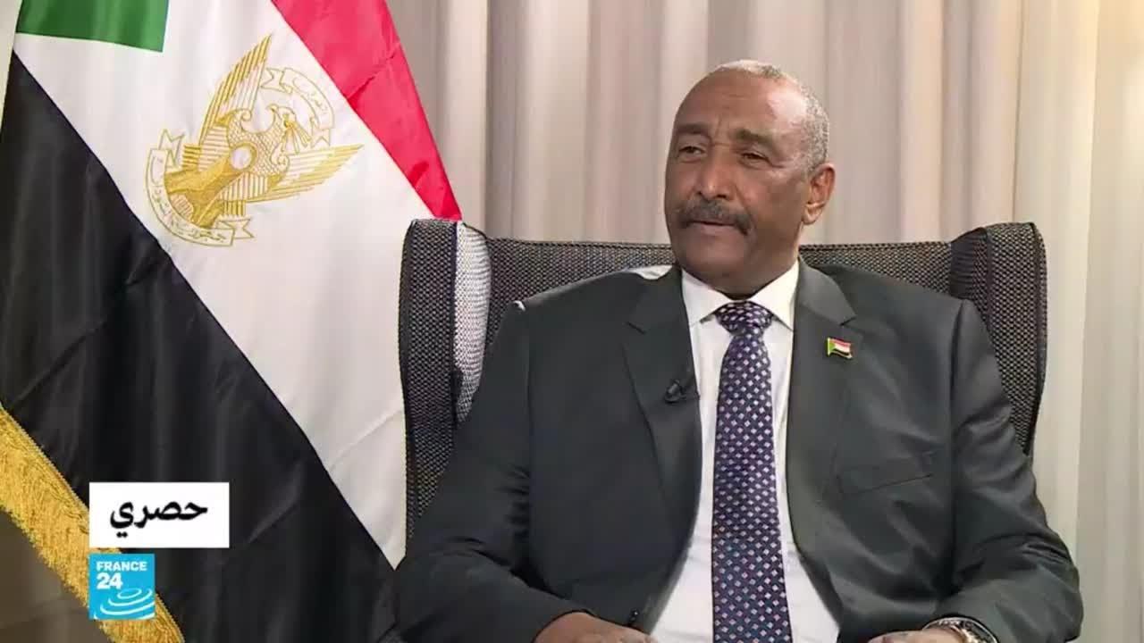 ما رأي رئيس مجلس السيادة الانتقالي في السودان عبد الفتاح البرهان بما يحدث في غزة؟  - نشر قبل 2 ساعة