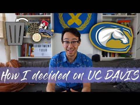 Why I chose UC Davis for College (and how I decided that)
