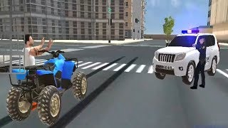 US Police Hummer Car Quad Bike Police Chase Games | Police Driving Simulator- Android GamePlay#2 HD