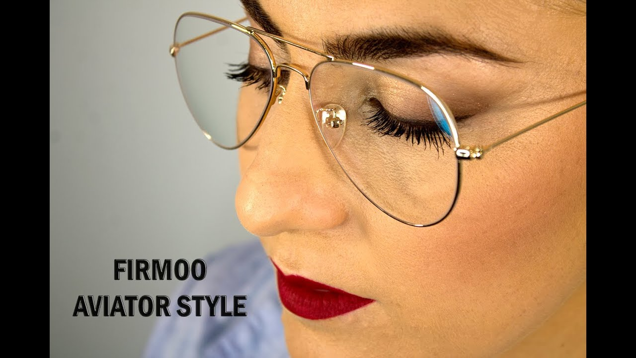 8c15a346d0 Maquillaje para chicas con gafas / aviator style - YouTube