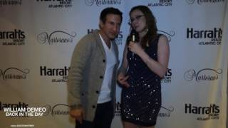 Actor Director William DeMeo Talks Back In The Day Movie at Red Carpet Atlantic City Preview