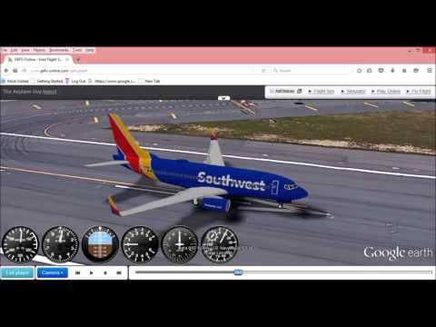 Google Earth Flight Simulator (#2)(Brand New Version!!!)
