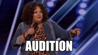 Vicki Barbolak America's Got Talent 2018 Audition|GTF