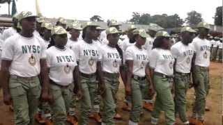 NYSC ORIENTATION CAMP ANAMBRA STATE 2012 BATCH B