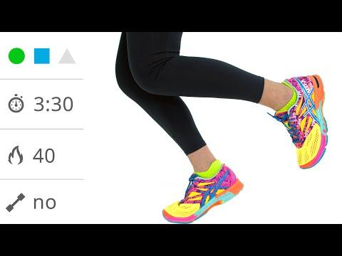 Running: Allenamento cardio con blocchi di Corsa lenta, Veloce e Scatto