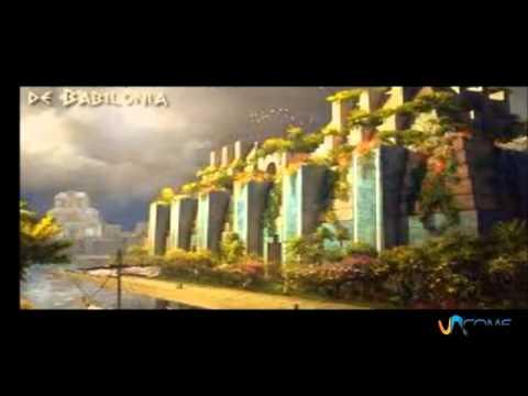 Giardini pensili di babilonia youtube for Immagini di piccoli giardini