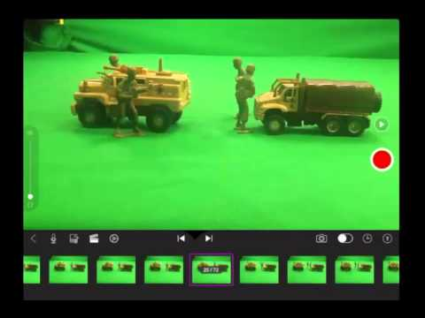 Stop motion animation using your iPad with the Stop Motion App