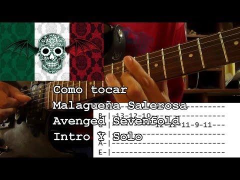 Como Tocar - Malagueña Salerosa (La Malagueña) - Avenged Sevenfold (Intro y Solo)