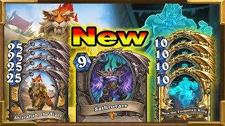 Hearthstone: 2 New Crazy Good Combos With Sathrovarr The New Card | Descent of Dragons New Decks