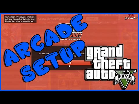GTA 5 Arcade Equipment Setup Mission Casino Heist Update
