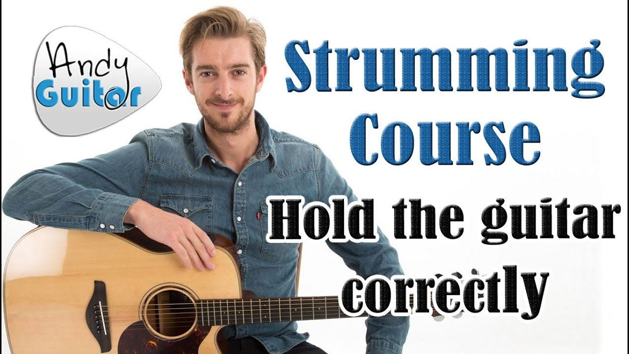 how to hold a guitar properly strumming tutorial 2 youtube. Black Bedroom Furniture Sets. Home Design Ideas