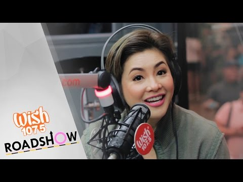 Regine Velasquez-Alcasid Interview on Wish 107.5 Roadshow (Powered by PLDT Home Fibr)
