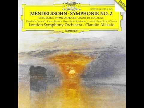 Mendelssohn - Symphony No. 2 [Abbado, London Symphony Orchestra]