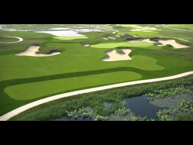 Vattanac Golf Resort 3rd Hole Animation