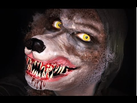 WEREWOLF PROSTHETIC MASK AND MAKEUP | MARYANDPALETTES | fantasy makeup ideas and costume