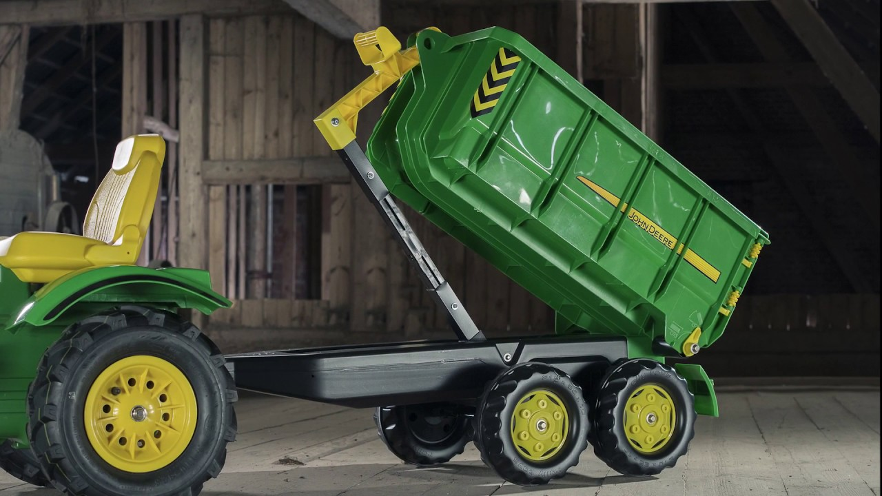 Rolly Toys container aanhanger Claas Outdoorspeelgoed