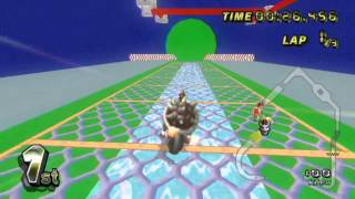 Mario Kart Wii Temporary Farewell to Dry Bowser (Thank You DLC!!!!)