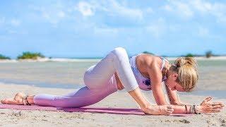 Yin Yoga For Flexibility ♥ A Sore Hip & Hamstring Love Song