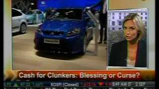 Blessing Or Curse? - Cash For Clunkers - Bloomberg