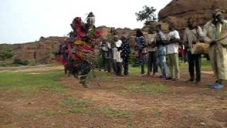 Dogon Masked Dance in Bnigemito