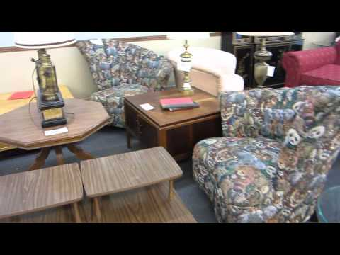 Milwaukee, WI Virtural Tour July 6th, 2013 Of Marcia's Used Furniture Store Part 5