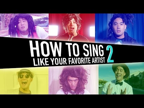 How To Sing Like Your Favorite Artist (pt.2)