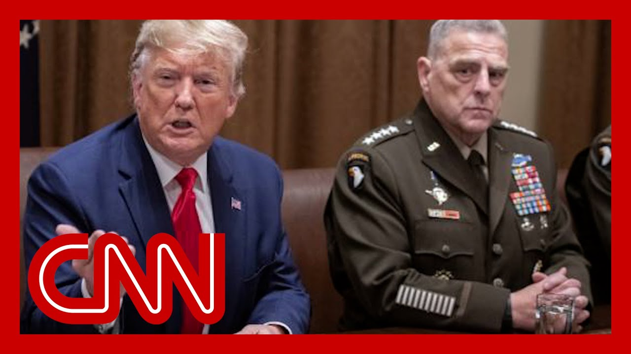Download Trump and GOP accuse Gen. Milley of treason. Reporter urges them to read the book