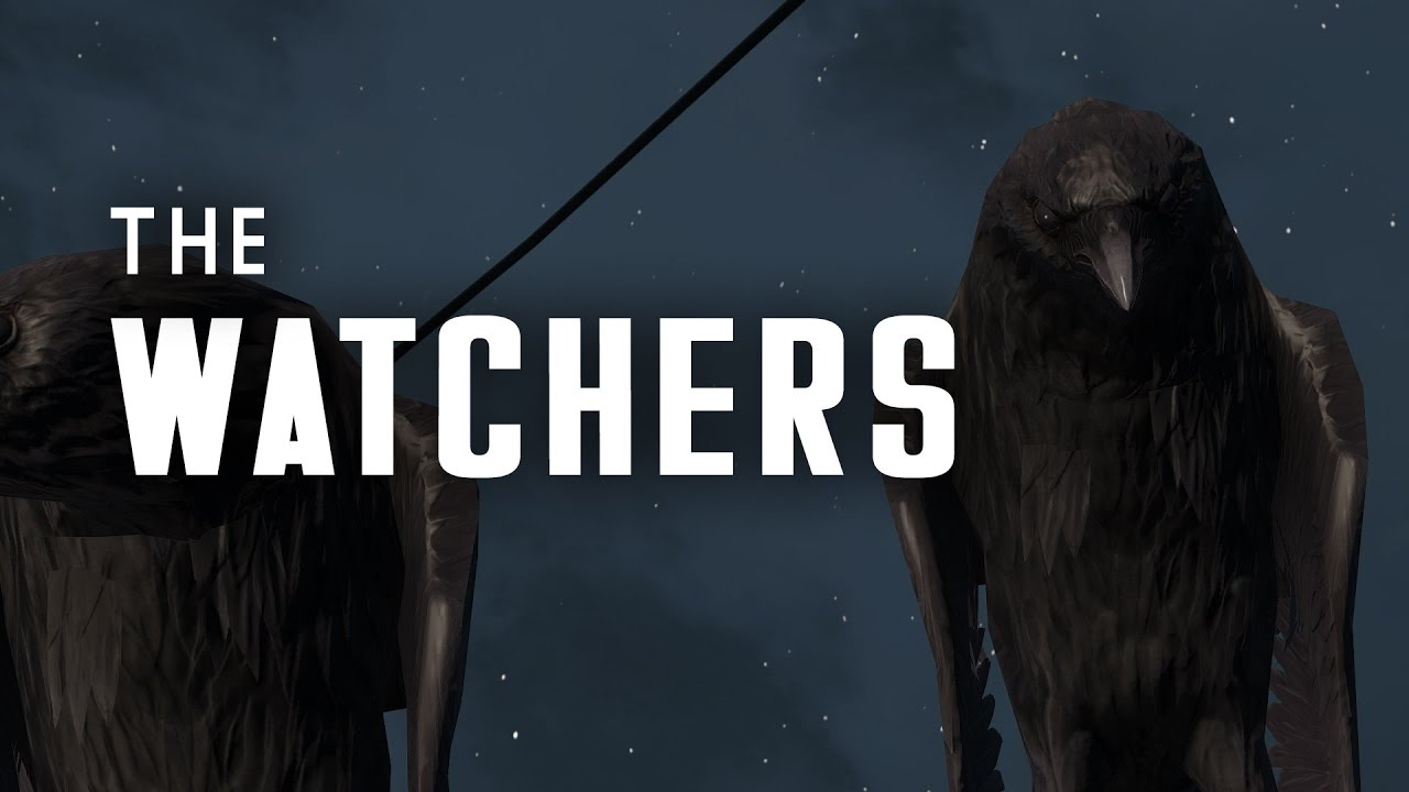 the watchers institute synth bird spies are watching you fallout