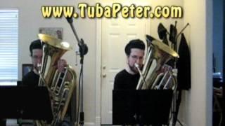 Joplin Pineapple Rag Tuba Duet + sheet music