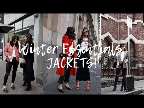 WINTER ESSENTIALS - JACKETS FOR WINTER 2017 | TWICE BLESSED