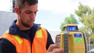 How to check your laser level on site
