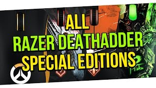 ALL RAZER DEATHADDER SPECIAL EDITIONS EVER MADE