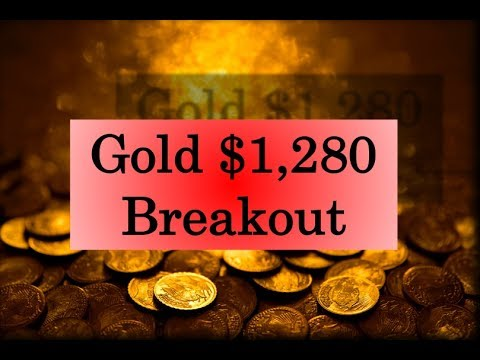 Gold & Silver Price Update - June 7, 2017 + Gold $1,280 Breakout