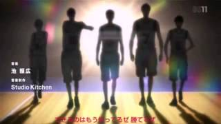 黒子のバスケ 2期 OP1【歌詞付き 】