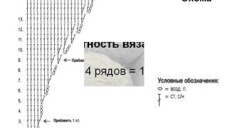 вязаные купальники крючком схемы и описание, часть 1