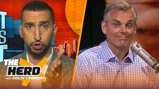 Westbrook not a highly effective player & Lillard was 'unbelievable' - Nick Wright | NBA | THE HERD