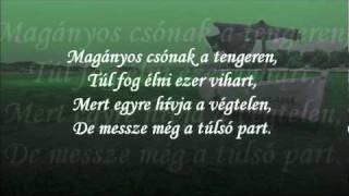 """Tompos Kátya - Magányos csónak (magyar """"fél"""" karaoke) by Koribali"""