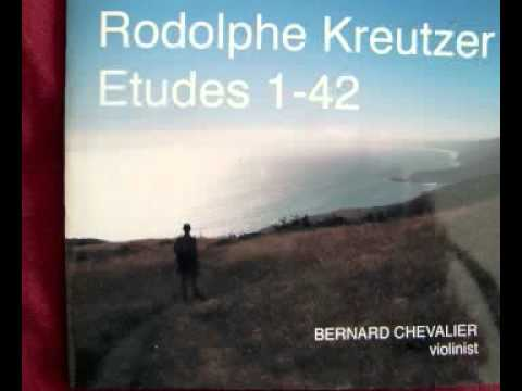 Kreutzer Etude #5 for solo violin by Rodolphe Kreutzer (1766-1831)
