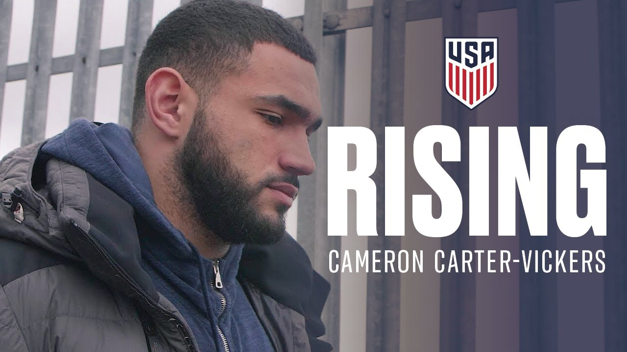 Rising Cameron Carter Vickers Youtube